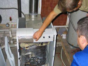 - разгерметизация контура подачи горячей воды.