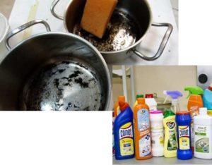 В кастрюлях и сковородках из нержавеющей стали можно готовить и на газовых
