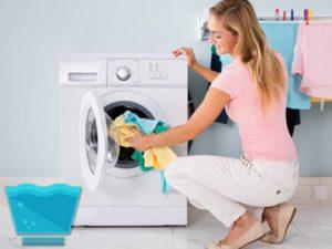 такие ткани, как лен и хлопок, можно загружать в стиральную машину на весь возможный объем