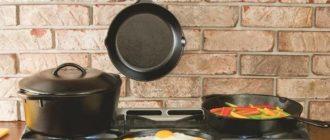 - еда сохраняет свои полезные свойства, и не впитывает вредные из чугуна.