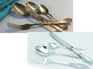 - с приборов нужно обязательно счищать остатки пищи;