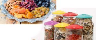 """Хранение в холодильнике подходит для """"влажных"""" сухофруктов, таких как инжир, чернослив, финики."""