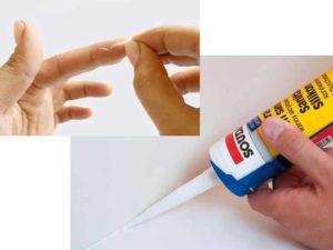 - оставшиеся пятна оттираются полиэтиленовым пакетом;