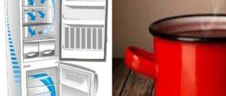 Ставить горячее можно в холодильники