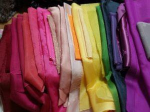 Все цвета радуги в ткани