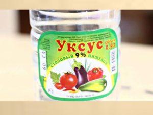 - добавить соль и уксус и размешать до получения однородной консистенции;