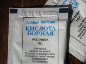 Борная кислота очень эффективна