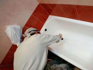 Ржавчина - появляется на ванной, если вода содержит большую концентрацию железа.