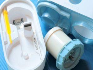 Выключить прибор, снять емкость с водой с основы и разобрать.