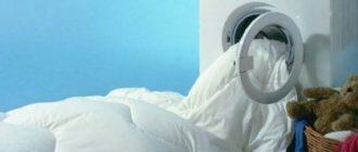 Сушить одеяло нужно в сухом и теплом месте