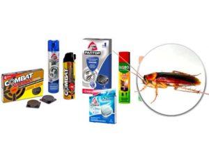 Комбат от тараканов — виды, инструкция по применению