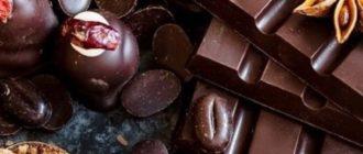 Оптимальной температурой хранения шоколада является 18-20 градусов