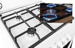 Как почистить газовую плиту от жира и нагара