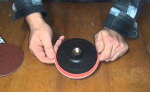 Как почистить шлифовальный диск