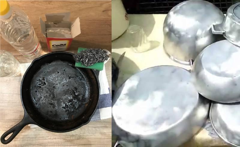 сковороду нужно нагревать